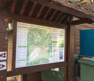 """Itinéraire pédestre Gréoux-Les-Bains """"La Bouscole"""""""