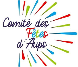 Logo Comité des fêtes d'Aups